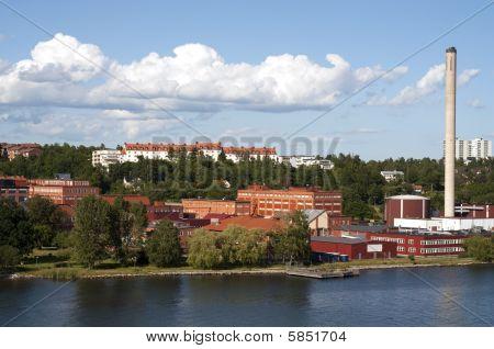 Stockhom Sweden Industrial Area