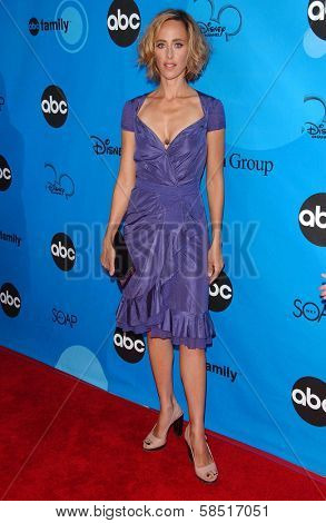 PASADENA, CA - JULY 19: Kim Raver at the Disney ABC Television Group All Star Party on July 19, 2006 at Kidspace Children's Museum in Pasadena, CA.