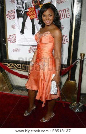 HOLLYWOOD - JULY 25: Ashanti at the premiere of John Tucker Must Die on July 25, 2006 at Grauman's Chinese Theatre in Hollywood, CA.