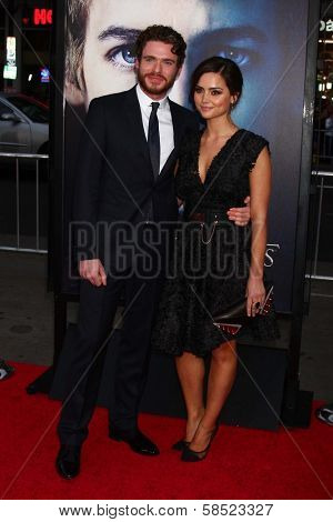 Richard Madden, Jenna-Louise Coleman at the