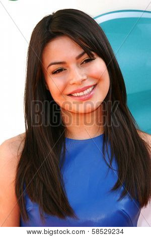 Miranda Cosgrove at the 2012 Nickelodeon Kids' Choice Awards, Galen Center,  Los Angeles, CA 03-31-12