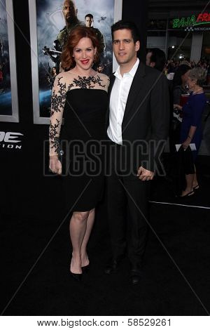 Molly Ringwald and Panio Gianopoulos  at the