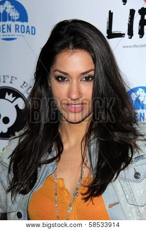Janina Gavankar at the No Kill L.A. Charity Event, Fred Segal, West Hollywood, CA 04-02-13