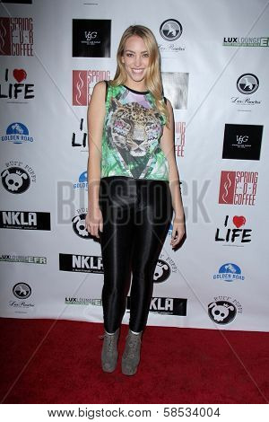 Apphia Castillo at the No Kill L.A. Charity Event, Fred Segal, West Hollywood, CA 04-02-13