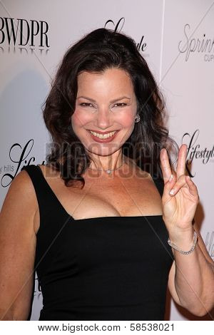 BEVERLY HILLS - SEPTEMBER 27: Fran Drescher at the Beverly Hills Magazine Fall Launch Party at Kyle By Alene Too on September 27, 2012 in Beverly Hills, CA.