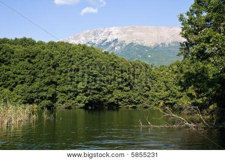 Calm Macedonian River