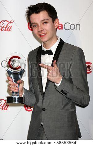Asa Butterfield at the CinemaCon Big Screen Achievement Awards , Caesars Palace, Las Vegas, NV 04-18-13