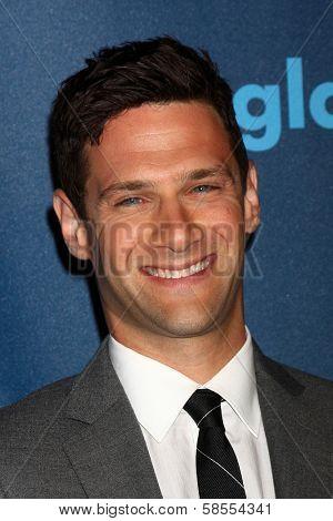 Justin Bartha at the 24th Annual GLAAD Media Awards, JW Marriott, Los Angeles, CA 04-20-13