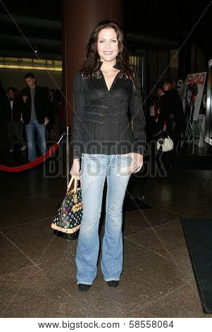 HOLLYWOOD - APRIL 10: Christa Campbell at the Los Angeles Premiere of