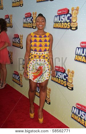 Tatyana Ali at the 2013 Radio Disney Music Awards, Nokia Theater, Los Angeles, CA 04-27-13