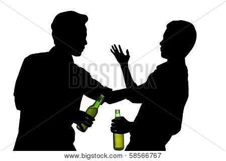Men Fighting