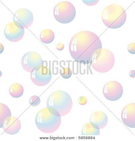 Seamless from soap bubble