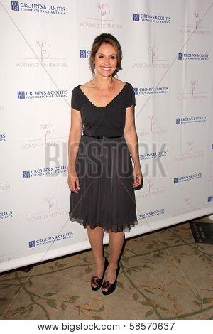Amy Brenneman at the Women of Distinction Luncheon honoring Amy Brenneman, Beverly Hills Hotel, Beverly Hills, CA 05-08-13