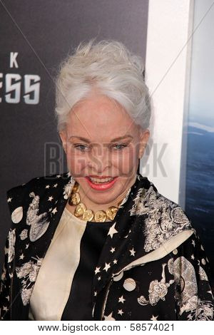 Lois Aldrin at the