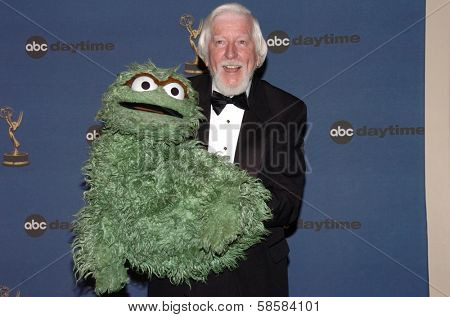 HOLLYWOOD - APRIL 28: Caroll Spinney in the press room at The 33rd Annual Daytime Emmy Awards at Kodak Theatre on April 28, 2006 in Hollywood, CA.