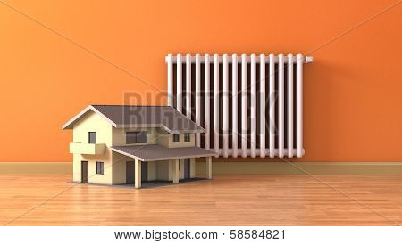 Concept Of Home Heating