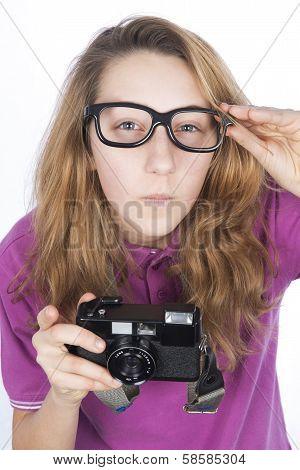 Young Photographer Presumptuous