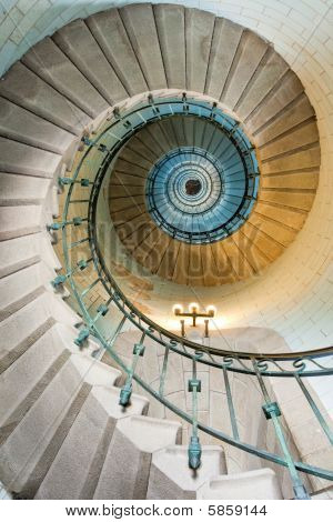 Beautiful Lighthouse Staircase