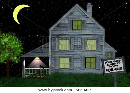Starry Night Sweet Country Home