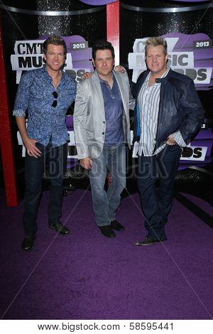 Rascal Flatts at the 2013 CMT Music Awards, Bridgestone Arena, Nashville, TN 06-05-13