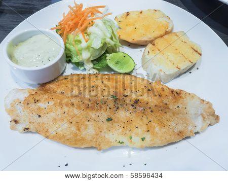 The Seasoning Fillet Fish Steak