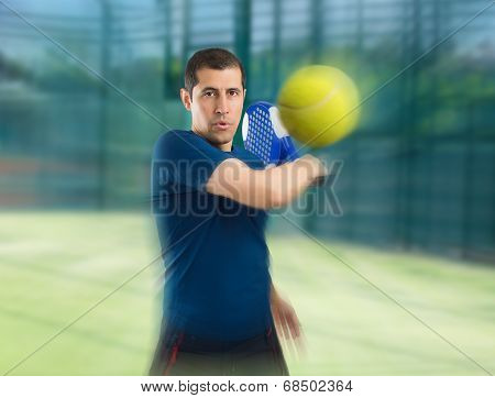 Paddle Tennis With Zoom Effect
