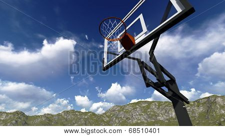 Street Basketball Board