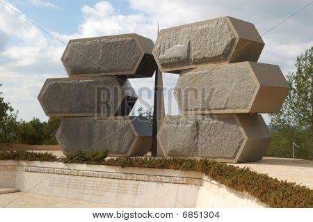 Holocaust memorial. Jerusalem, Israel.