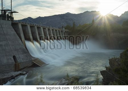 Kananaskis Hydro Electric Dam Mw5