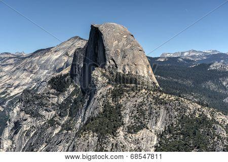 Half Dome Of Yosemite Valley
