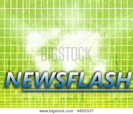 World News Splash Screen