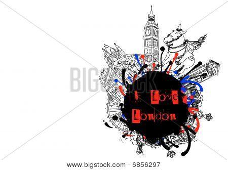 London Grunge Design