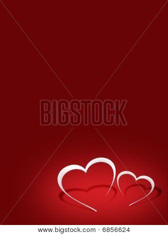 Red Valentine's Ilustration