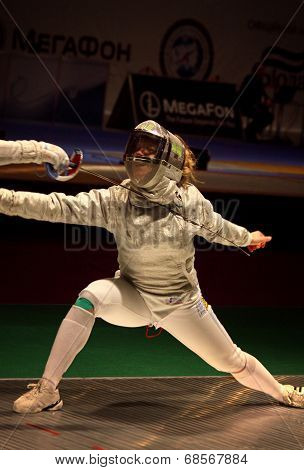 Sabre Fencer Olga Kharlan Of Ukraine