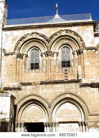 Jerusalem Holy Sepulcher Gable 2012
