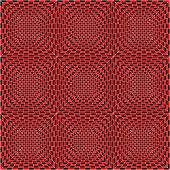 Pattern of black, white and red, vector, seamless tile poster