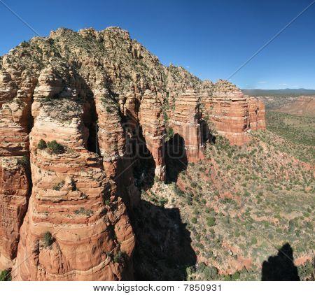 Red Rock Cliffs