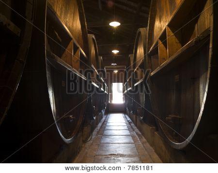 Door Wine Open