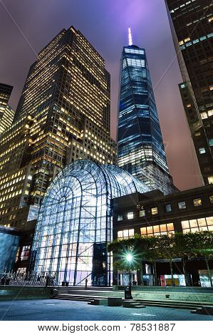 New York, Usa - Freedom Tower In Lower Manhattan