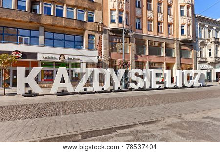 Name Of Open-door Photo Exhibition In Lodz, Poland