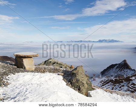View Of The Ski Resort