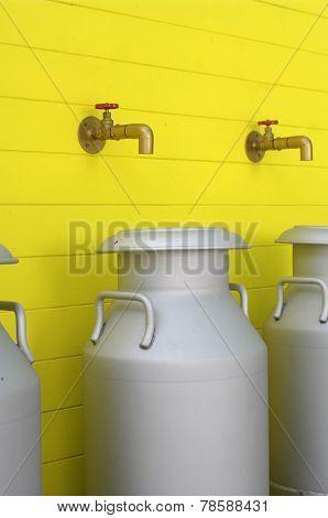 Milk Aluminuim Can Tank