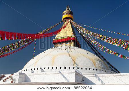 Boudhanath Stupa - Kathmandu - Nepa