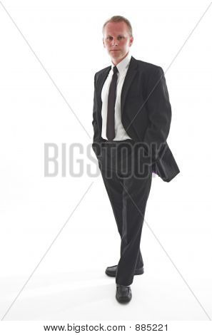 Black Suited Guy