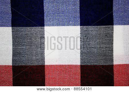 Beautiful plaid fabric