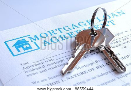 Delivery Of The Mortgage Contract And Keys