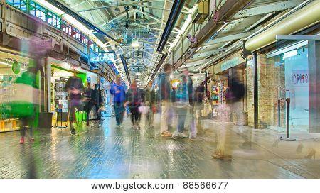 Inside Chelsea Market, Manhattan, New York City