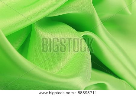 Soft Green Satin