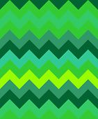 abstract zig zag background wave green triangles pattern poster