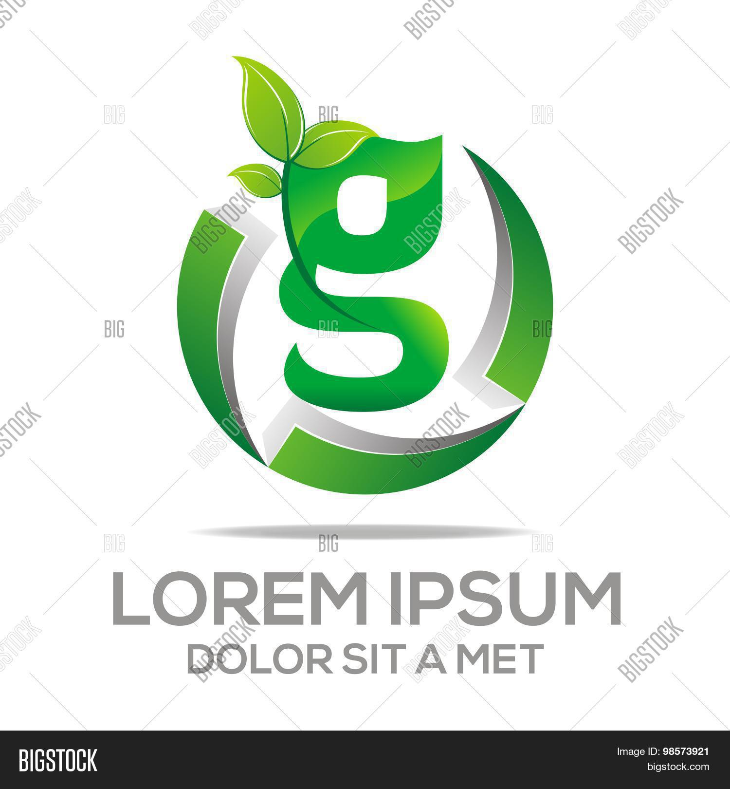 Logo Vector Letter G Vector Photo Free Trial Bigstock